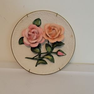 The Roses of Capodimonte Plate